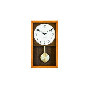 CHAMBRE HINOKI PENDULM CLOCK【CAFE BROWN】
