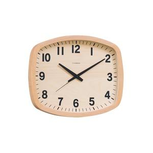 CHAMBRE R-SQUARE CLOCK【NATURAL】 - 拡大画像
