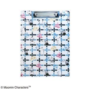 ムーミン クリップボード【2点セット】【Hooray ブルー】 - 拡大画像