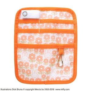 ミッフィーポケットオーガナイザー 【フラワーオレンジ】【2個セット】 - 拡大画像