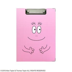 バーバパパ クリップボード【同柄2個セット】【バーバパパ ピンク】 - 拡大画像