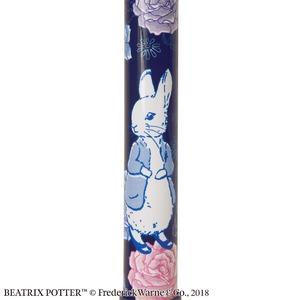 【4つ折り伸縮式ステッキ/杖】 ピーターラビットステッキ Japonism ブルー