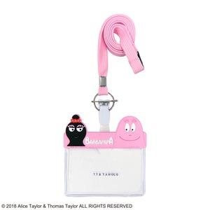 バーバパパ ネームホルダー【同色3個セット】ピンク