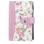 【バラ雑貨】ポケット手帳ローズポケットブック【5個セット】0170003set