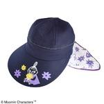 【保育士さん】ムーミン 3WAYつば広帽子 【フラワーパープル】