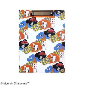 ムーミン クリップボード【同柄2個セット】【KUMO ホワイト】 - 拡大画像