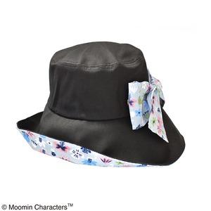 【保育士さん】【帽子】ムーミン 折り畳みつば広帽子 フラワー KOBANA - 拡大画像