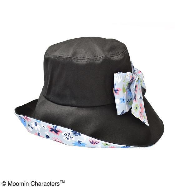 【保育士さん】【帽子】ムーミン 折り畳みつば広帽子 フラワー KOBANA