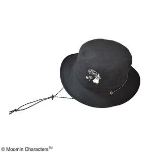 【保育士さん】【帽子】【アウトドア】ムーミン サファリハット リトルミイブラック - 拡大画像