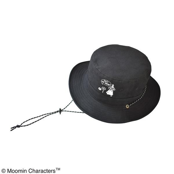 【保育士さん】【帽子】【アウトドア】ムーミン サファリハット リトルミイブラック