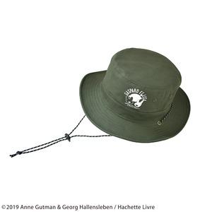 【保育士さん】【帽子】【アウトドア】リサとガスパール サファリハット カーキ - 拡大画像