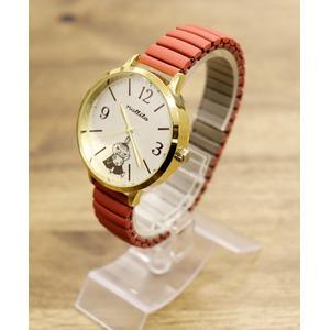 ムーミンカービングジャバラウォッチ【腕時計】【同色2個セット】【レッド】 - 拡大画像