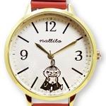 ムーミンカービングジャバラウォッチ【腕時計】【レッド】リトルミイ