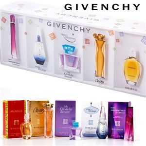GIVENCHY(ジバンシィ) トラベルコレクション ミニチュア香水 5Pセット - 拡大画像