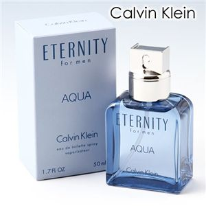 Calvin Klein(カルバンクライン) エタニティーフォーメンアクア 50ml - 拡大画像