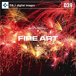 写真素材 DAJ039 FIRE ART 【ファイアーアート】 - 拡大画像