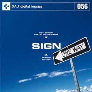 写真素材 DAJ056 SIGN 【標識&看板】 - 拡大画像
