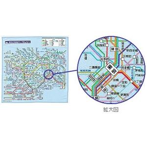 東京近郊鉄道マップ トレシー - 拡大画像
