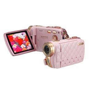 3.0型 TFTカラー液晶モニタ搭載 HD画質 デジタルビデオカメラ GHV-DV30HDLX ピンク - 拡大画像