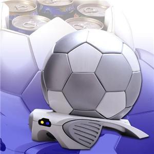 RAMASU(ラマス) サッカーボール型 冷温庫 【保冷庫・保温庫】 RG-S04 - 拡大画像