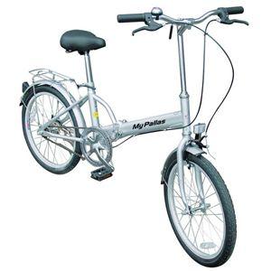 MYPALLAS(マイパラス) 折り畳み自転車 M-27S 20インチ シルバー - 拡大画像