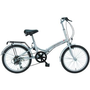 MYPALLAS(マイパラス) 折り畳み自転車 M-30 20 6段変速 シルバー - 拡大画像