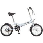 MYPALLAS(マイパラス) 折り畳み自転車 M-101 16インチ ホワイト