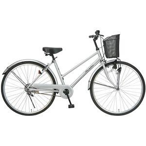 MYPALLAS(マイパラス) 自転車 M-512 26インチ シルバー (シティサイクル) - 拡大画像