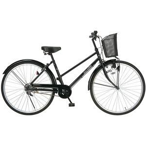 MYPALLAS(マイパラス) 自転車 M-512 26インチ ブラック (シティサイクル) - 拡大画像
