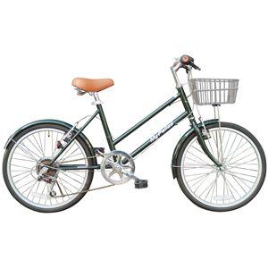 MYPALLAS(マイパラス) 自転車 S-サイクル M-702 20インチ 6段変速 ダークオリーブグリーン - 拡大画像