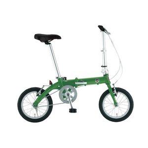 FIAT(フィアット) AL-FDB140 14インチ 折りたたみ自転車 グリーン - 拡大画像
