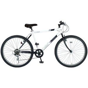 MYPALLAS(マイパラス) 自転車 26インチ 6段ギア M-610S ホワイト (マウンテンバイク) - 拡大画像