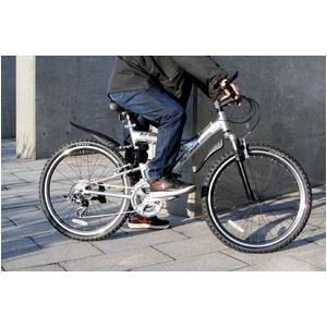 MYPALLAS(マイパラス) 自転車 26インチ 21段Wギア サス/アルミフレーム M-960 ホワイト (マウンテンバイク) - 拡大画像