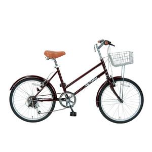 MYPALLAS(マイパラス) 自転車 S-サイクル 20インチ 6段ギア M-702 グレープ - 拡大画像