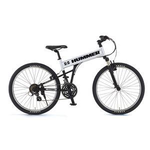 HUMMER(ハマー) 自転車 AL-ATB261 26インチ MB スコッチSV(簡易工具セット付き) 【マウンテンバイク】 - 拡大画像