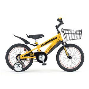 HUMMER(ハマー) 子供用自転車 CHIBI(チビ) 16インチ イエロー - 拡大画像