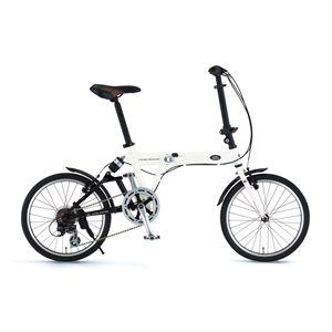 LAND ROVER(ランドローバー) 折り畳み自転車 AL-FDB207 R-sus 20インチ ホワイト - 拡大画像