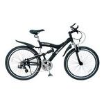MYPALLAS(マイパラス) 自転車 S-サイクル 26インチ 21段変速 M-960 マットブラック 【マウンテンバイク】