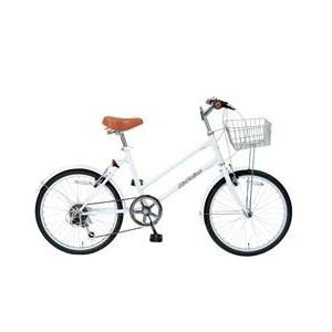 MYPALLAS(マイパラス) 自転車 S-サイクル 20インチ 6段変速 M-702 ホワイト - 拡大画像