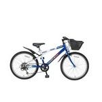 MYPALLAS(マイパラス) 子供用自転車 M-707 22インチ 6段変速 子供用 ブルーホワイト(マウンテンバイク)