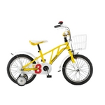 Ferrari(フェラーリ) 自転車 PILOTA16 イエロー 【子供用自転車】