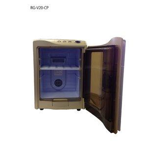 RAMASU(ラマス) ポータブル冷温庫 20Lタイプ RG-V20 シャンパンゴールド 【保冷庫・保温庫】 - 拡大画像