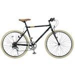 MYPALLAS(マイパラス) クロスバイク26インチ6SP M-640ブラック