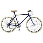 MYPALLAS(マイパラス) クロスバイク26インチ6SP M-640ブルー