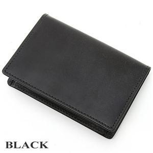 Whitehouse Cox(ホワイトハウスコックス)  Bridle Leather 名刺入れ S7412 BLACK - 拡大画像
