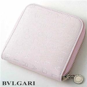 【在庫処分特価】BVLGARI(ブルガリ) 二折財布 Small zipped wallet 24843 ライトピンク(限定カラー) - 拡大画像
