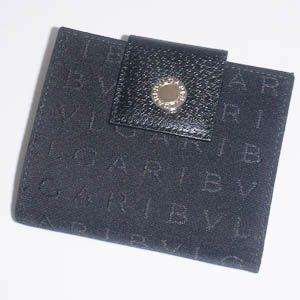 BVLGARI(ブルガリ) ダブルホック財布 22241/Black - 拡大画像