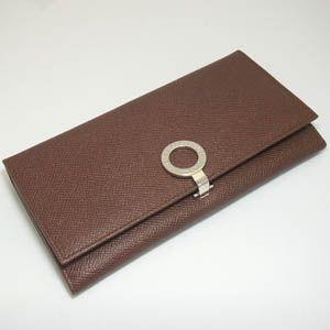 BVLGARI(ブルガリ) 長財布 ブルガー 23296/dark brown - 拡大画像