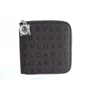 BVLGARI(ブルガリ) ラウンド二つ折り財布 25149 レッタレ ブラウン - 拡大画像