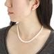 花珠真珠(あこや真珠) パールネックレス&パールイヤリング 7〜7.5mm玉  - 縮小画像5